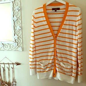 C. Wonder's striped orange cardigan
